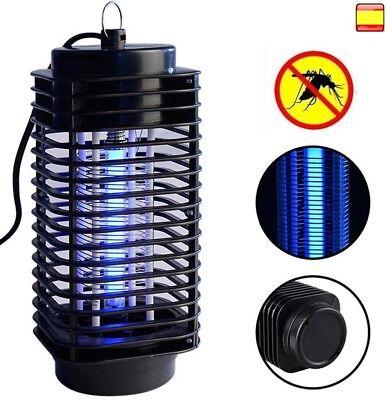 Lámpara LED mata mosquitos moscas trampa eléctrica insecticida noche 220V