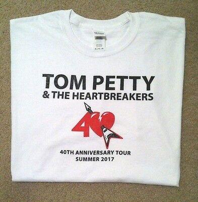 Tom Petty 2017 tour t-shirt