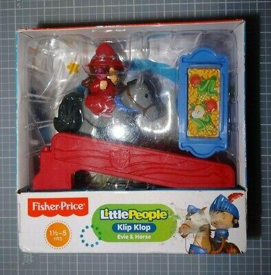 Fisher-Price Little People Klip Klop Evie & Galahad horse Play Set