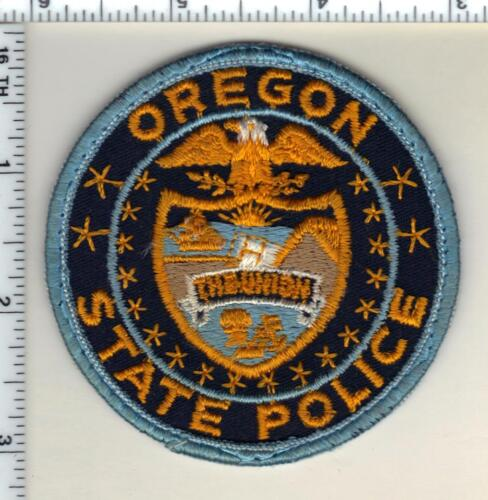 State Police (Oregon) Uniform Take Off Shoulder Patch from the early 1980