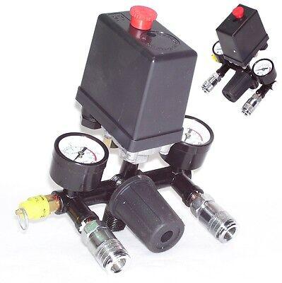 40343 Druckregler mit Druckschalter f Kompressor Druckwächter Kompressorschalter