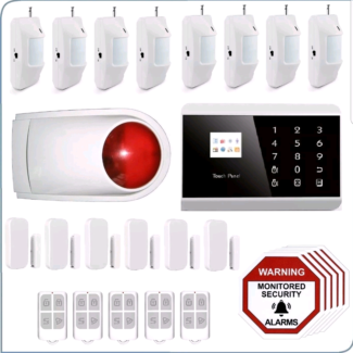 3G+PSTN Wireless Home Security System