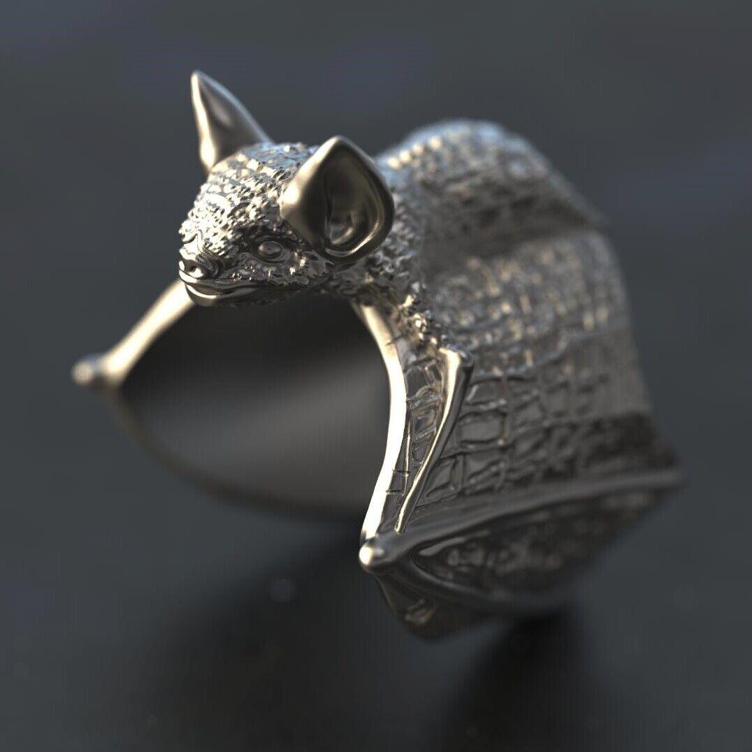 1 pc Bat ring Wax patterns for lost wax casting jewelry/ inj