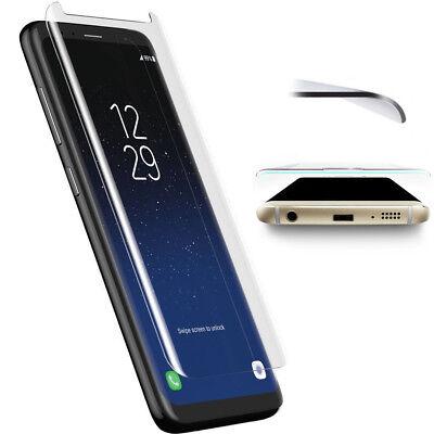 Panzer Glasfolie Samsung Galaxy S8 3D Displayfolie Panzer Folie Glas Curved 9H