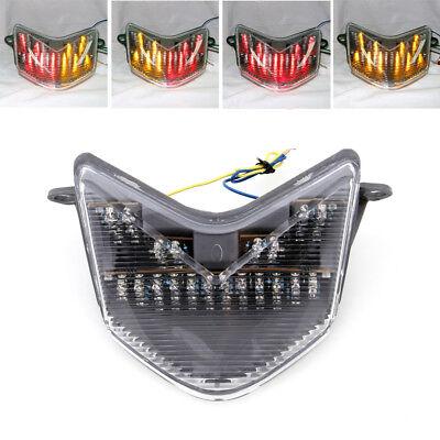 LED Tail light+integrated Turn Signals For Kawasaki Ninja ZX-6R/6RR/636 ZX10R