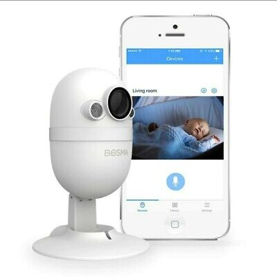 Mini Security Camera/Baby Monitor with Bluetooth Connectivity/2way audio