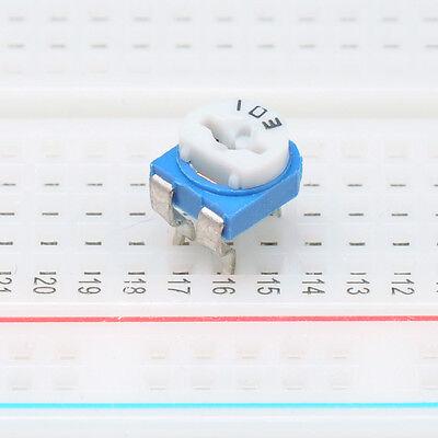 10x 10k Ohm Trim Pot Variable Resistor 6mm Horizontal Trimmer Potentiometer Usa