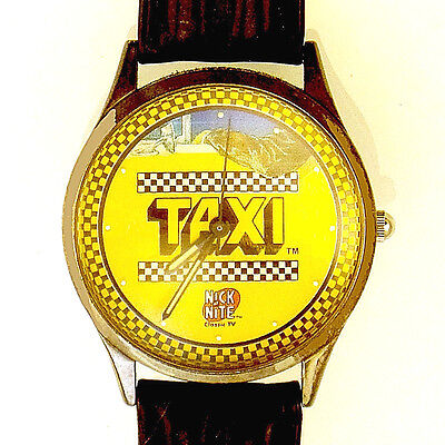 TAXI TV Show, Nick at Night Paramount Pictures Fossil Watch Unworn, Numbered $69