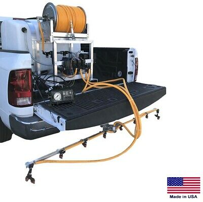 De-icer Sprayer Commercial - Skid Mounted - 200 Gallon Tank - 6 Ft Boom