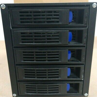 """NORCO SS-500 (3 x 5.25"""" to 5 x3.5"""" SAS/SATA 6.0G HDD) ALUMINUM HOT SWAP CAGE"""