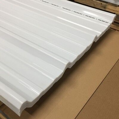 2 Pcs Unitrex Sunsky 1.5mm 45 L.t. White Opal 116 X 38 X 6 Polycarbonate