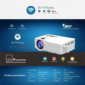 Projector WIFI Android IOS Multimedia Home Theater Mini Video