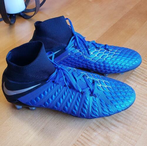 Nike Hypervenom Phantom 3 Elite FG DF Mens Size 10.5 Blue