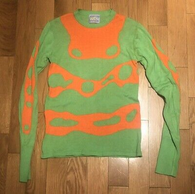 Walter Van Beirendonck W.&.L.T Runway Sweater Size Small