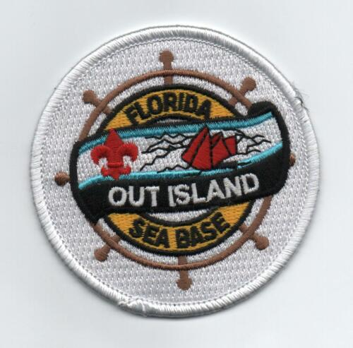 """Florida High Adventure Sea Base """"Out Island"""" Patch, Mint!"""