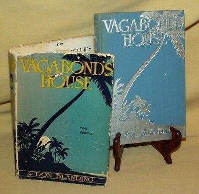 Vagabonds House By Don Blanding 28Th Printing 1942 Hc Dj Dodd Mead Frank Warren