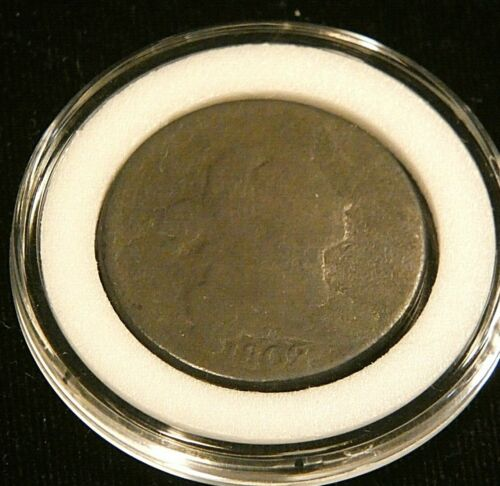 1802 Draped Bust Large Cent AG in Airtight cap #DP22