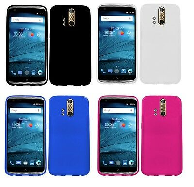 TPU Soft Crystal Gel Skin Case Phone Cover Accessory for ZTE Axon Pro A1P A1PB