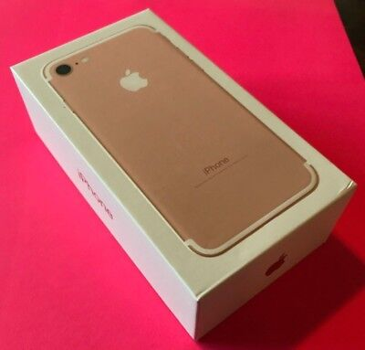 NEW Apple iPhone 7 - 32GB - Rose Gold - Factory Unlocked - Brand New Smartphone