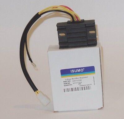 (Voltage Regulator Rectifier Fit: Suzuki GN125 1982-1997 -GZ250 1999-2010)