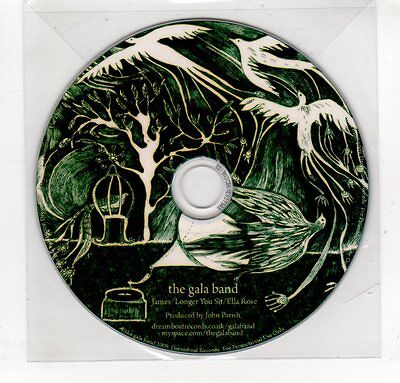 (GP346) The Gala Band, James - 2009 DJ CD Gala-band