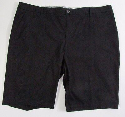 JCP Bermuda Shorts Women's Size 24w nwt Black stretch