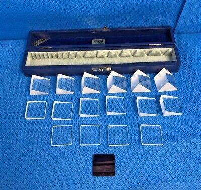 R. O. Gulden Berens Instrument Ophthalmic Eye Prism Set S-16 With Original Case