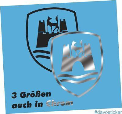 Wolfsburg Logo VW Golf T1 T2 Bulli GTI Wandtattoo Aufkleber Dekoration Sticker