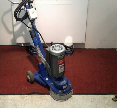 Commercial Blastrac 10 Surface Grinder Tile Removal Floor Stripper Scraper Used