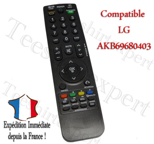 universelle lg akb69680403 telecommande controleur remote pour lg led tv smart ebay. Black Bedroom Furniture Sets. Home Design Ideas