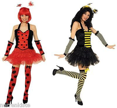 Biene Bienen Marien Käfer Corsage Korsage Damen Kostüm Bienenkostüm Käferkostüm ()