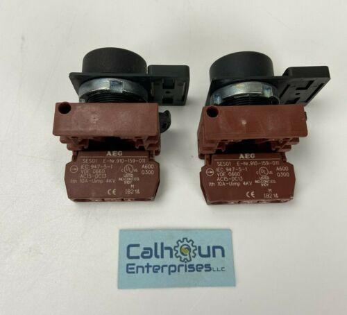 (LOT OF 2)  AEG SES01 E 910-159-011 Push Button Switch *WARRANTY*