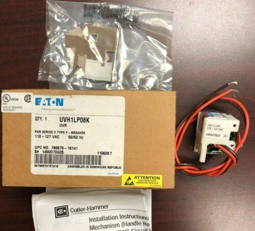 EATON/Cutler Hammer UVH1LP08K UVR 110-127VAC Undervoltage Release for EHD/FD/HFD