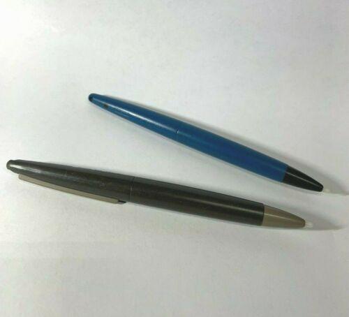 2x Original Nintendo DSi XL Dark Brown & Blue UTL-005 Touch Stylus Big Pen dsixl
