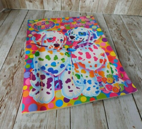 Lisa Frank Giant Coloring Activity Book Spotty Dotty