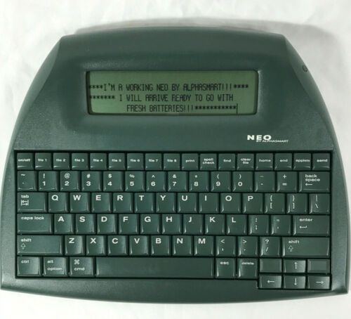Neo Alphasmart By Renaissance Learning Word Processer - Free USA Shipping