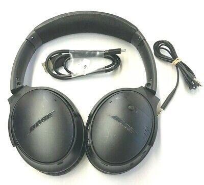 BOSE QUIETCOMFORT 35 QC35 WIRELESS Headphone - Black *Distressed* (46-6B)