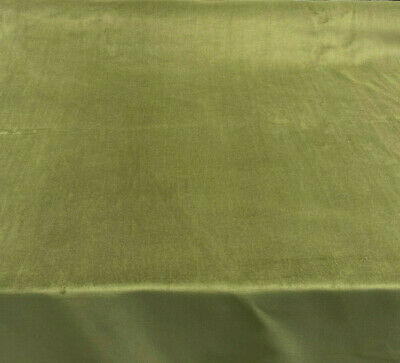 Cotton Velour Green Princess Velvet FR Fabric by the yard
