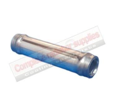 13 mm OD Aluminium Radiator Heater Hose Connector / Pipe / Joiner 100 mm Long