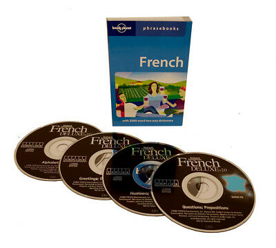 Learn to Speak French Language (4 Audio CD Set w/Phrasebook) listen in your car