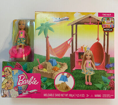 Barbie Dreamhouse Adventures Chelsea Tiki Hut Playset NEW 3+
