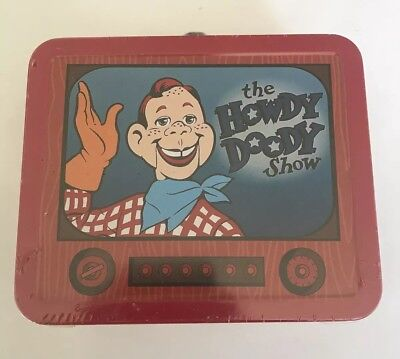 The Howdy Doody Show Hallmark Tin Lunch Box Numbered Edition No. 5E/1712
