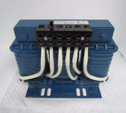 ALLEN BRADLEY LINE REACTOR TRANSFORMER 1321-3R45-B 3 PHASE 600V 50/60 HZ 45 AMP