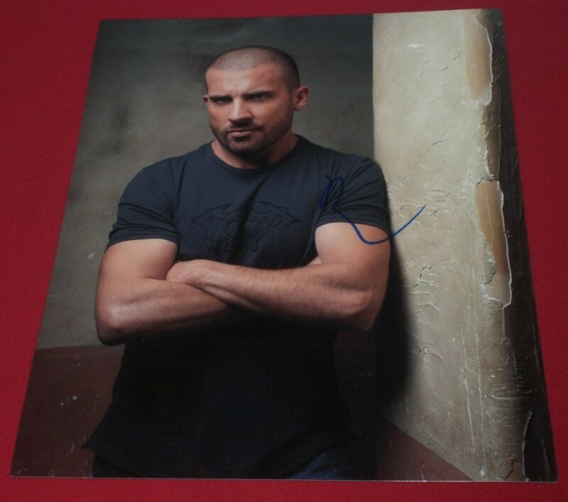 DOMINIC PURCELL SIGNED PRISON BREAK CLASSIC HOT LINCOLN 8X10 PHOTO AUTOGRAPH COA