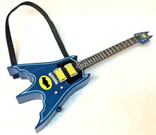Hallmark 2019 Batman Rocks Electric Bat Guitar NIB Keepsake Xmas Ornament Theme