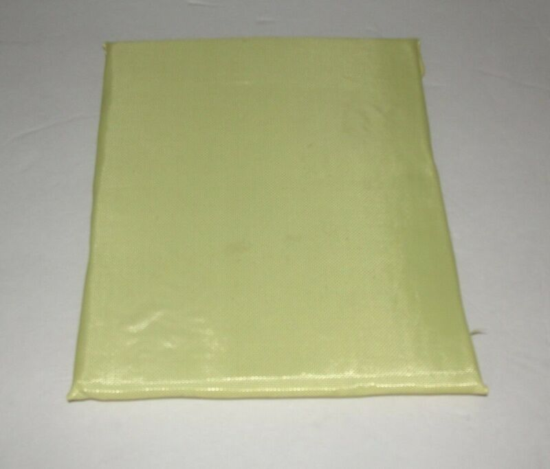 8x10 Level IIIA Body Armor Plate Bullet Proof Insert Made with DuPont Kevlar