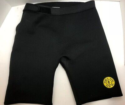 Golds Gym Medium /Large Neoprene Compression Shorts Cross Fit Lifting Cycling ()