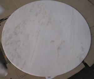 Table Top only - ROUND White Marble 120cm wide REDUCED!! Woollahra Eastern Suburbs Preview