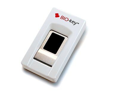 BIO-key EcoID Compact Enterprise Level USB Fingerprint Reader for Windows Hello