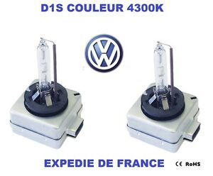 ampoule xenon d1s vw golf vi passat touareg phaeton 35w 4300k neuf ebay. Black Bedroom Furniture Sets. Home Design Ideas
